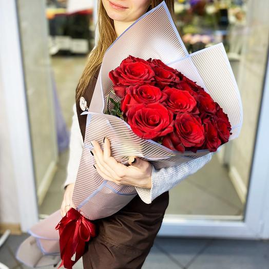 Красная роза 24