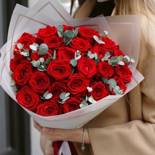 Букет «Классика»: букеты цветов на заказ Flowwow