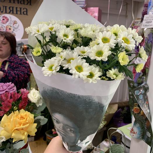 Ромахи в упаковке «прада»: букеты цветов на заказ Flowwow