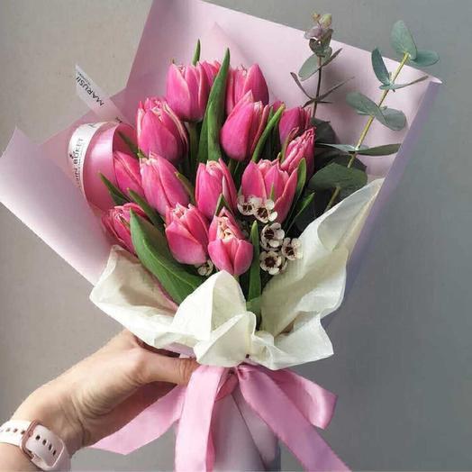Прекрасная дама: букеты цветов на заказ Flowwow