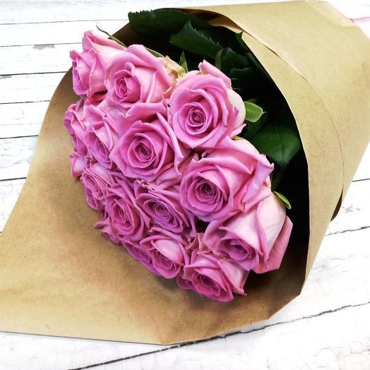 Роза Аква 50 см. 19 шт