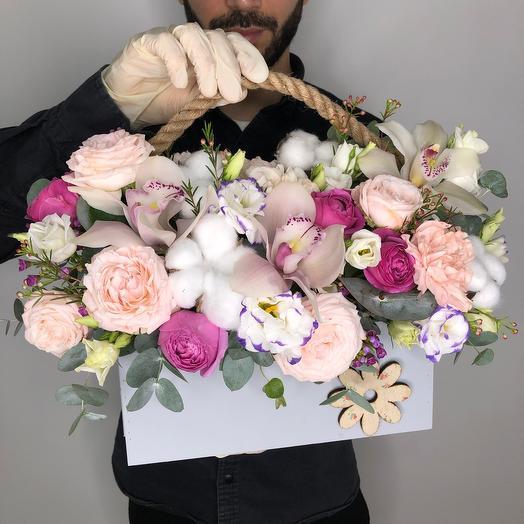 «Белые ночи»: букеты цветов на заказ Flowwow