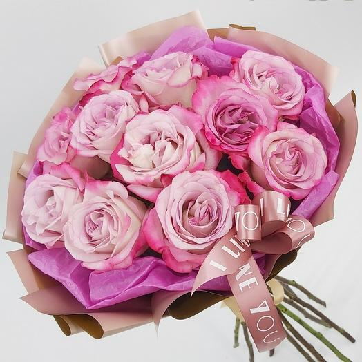 """Букет из роз """"С любовью"""""""