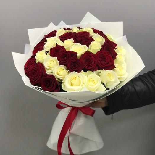 35 Роз в фоамиране