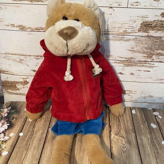 teddy bear in a suit