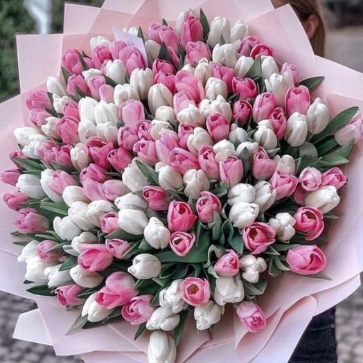 Букет Тюльпаны 201