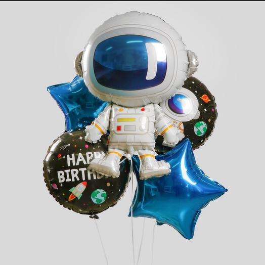 Набор шаров «космонавт» с гелием
