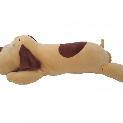 Собака Слип 70 см рыжая