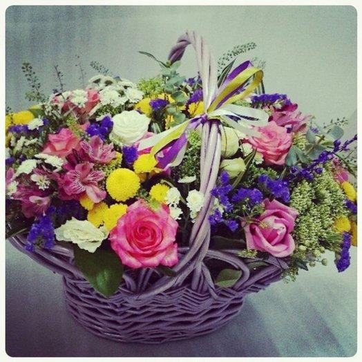 Корзина Искушение: букеты цветов на заказ Flowwow