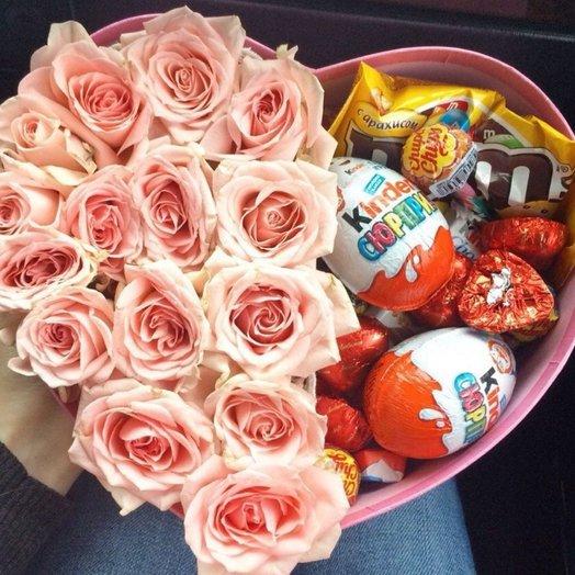 Розочки  Сладости: букеты цветов на заказ Flowwow