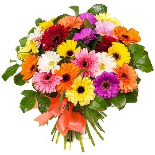 Букет из герберы: букеты цветов на заказ Flowwow