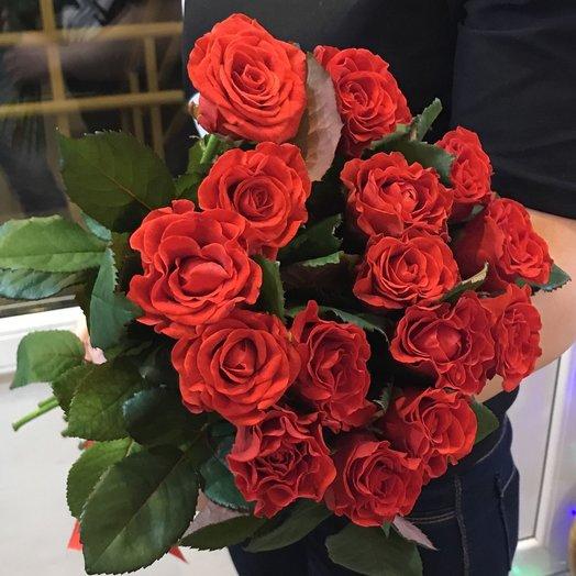 Красный эль: букеты цветов на заказ Flowwow