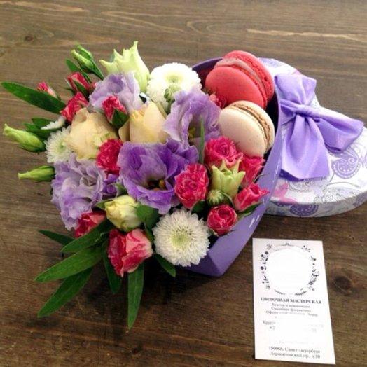 Для любимых сластен: букеты цветов на заказ Flowwow