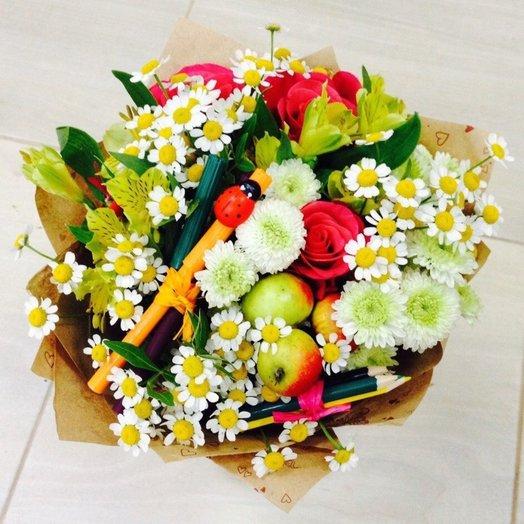Букет 003 на 1 Сентября!: букеты цветов на заказ Flowwow