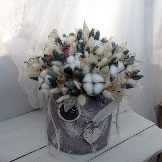 """Коробка """"Пёрышком"""": букеты цветов на заказ Flowwow"""