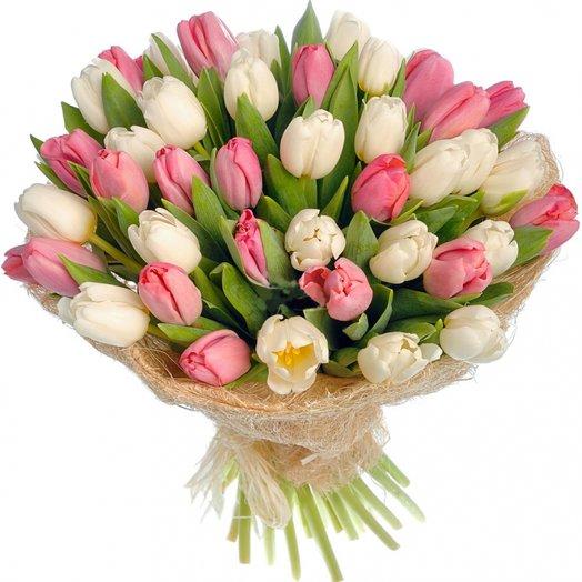 """Букет """" Клубника и сливки"""": букеты цветов на заказ Flowwow"""