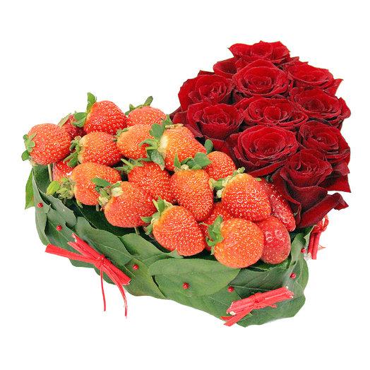 Сердце 11: букеты цветов на заказ Flowwow