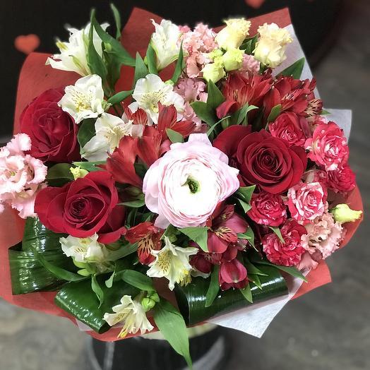 Вечная любовь: букеты цветов на заказ Flowwow