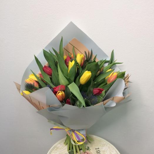 «Калейдоскоп чувств»: букеты цветов на заказ Flowwow