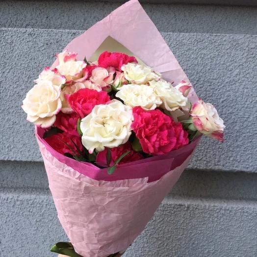 Букет 1860: букеты цветов на заказ Flowwow