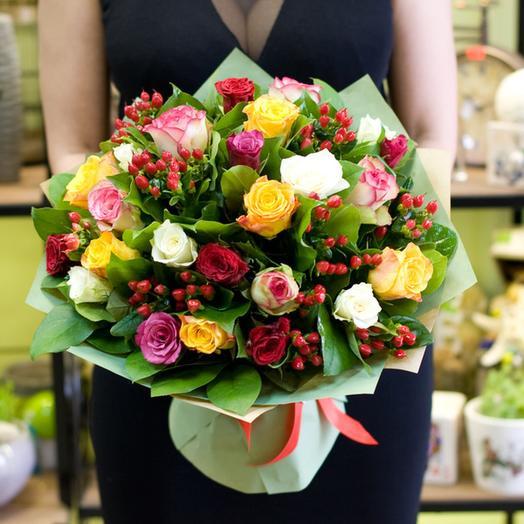 """Букет роз """"Темперамент цветов"""": букеты цветов на заказ Flowwow"""