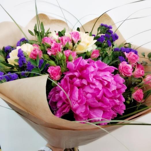 Королевский пион: букеты цветов на заказ Flowwow