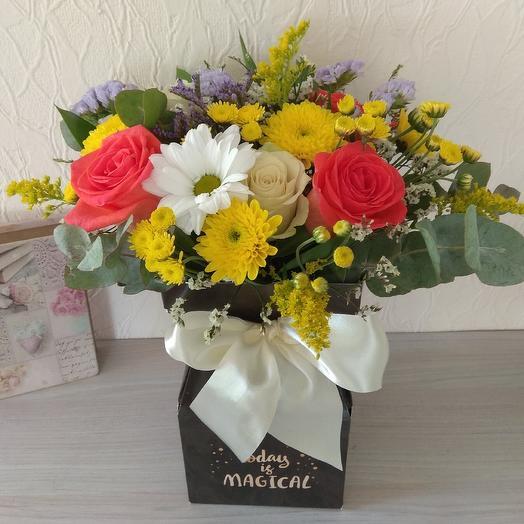 Осенние краски: букеты цветов на заказ Flowwow