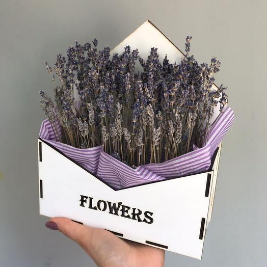 Лавандовый ящик: букеты цветов на заказ Flowwow