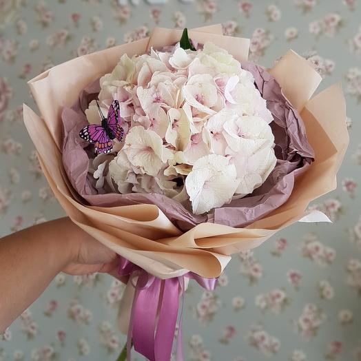 Облачко гортензии: букеты цветов на заказ Flowwow