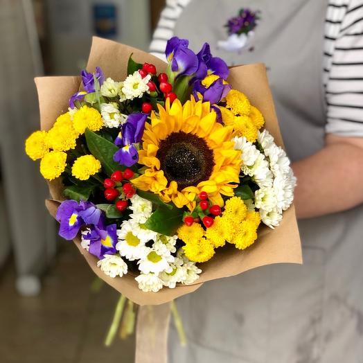Букет День знаний Премиум: букеты цветов на заказ Flowwow