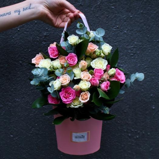 Нежный розовый: букеты цветов на заказ Flowwow