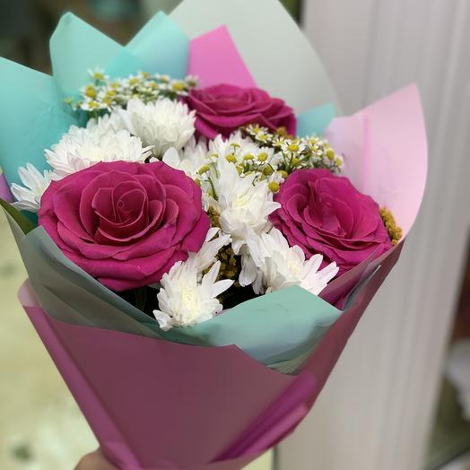 Шикарное трио: букеты цветов на заказ Flowwow