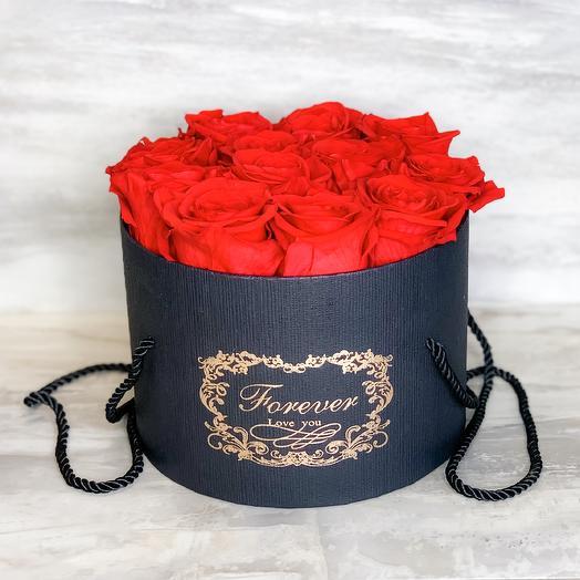 Forever Red Rose Box