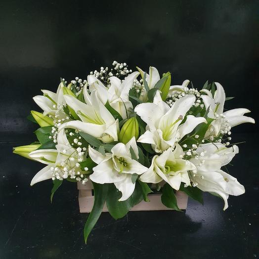"""Цветочная композиция """"Свежесть"""": букеты цветов на заказ Flowwow"""