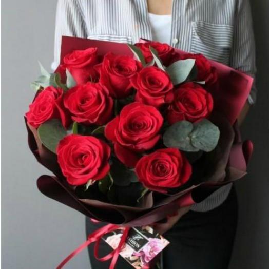 Красные розы 20
