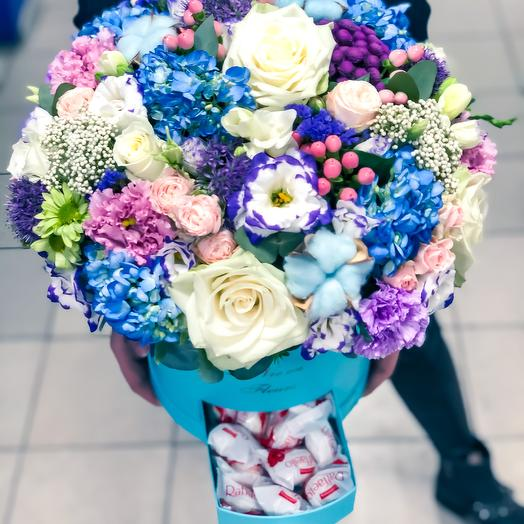 Премиум коробка Совершенство: букеты цветов на заказ Flowwow
