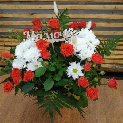Мамины первые цветы: букеты цветов на заказ Flowwow