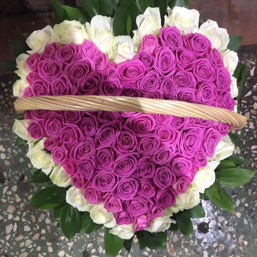 Вот она любовь: букеты цветов на заказ Flowwow