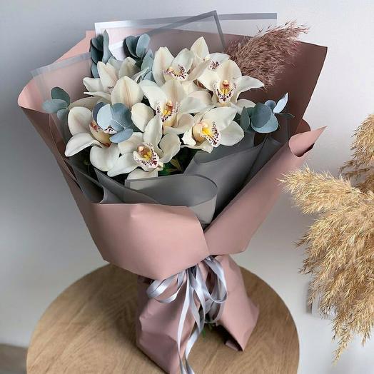 9 орхидей: букеты цветов на заказ Flowwow