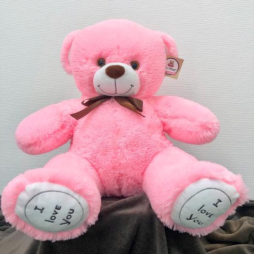 Мишка Гарри 70 см (розовый)