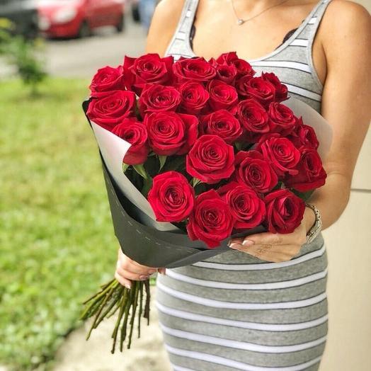 ✅ Букет 25 красных роз Love