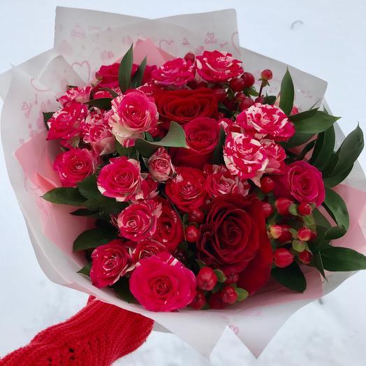 Оттенки роз