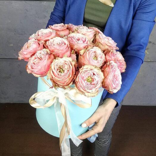 Цветы в коробке 3