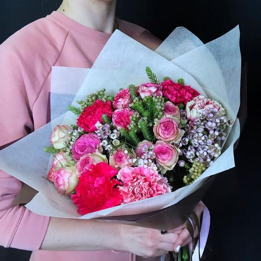 Букет Pink 5