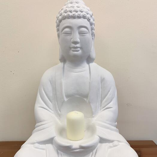 Будда гипс