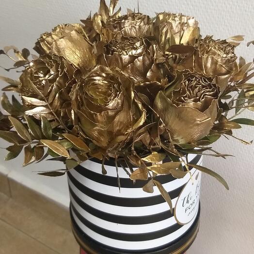 Роза золотая 💓