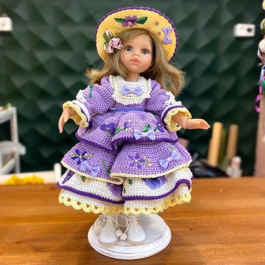 Кукла Паола Рейна в одежде ручной работы