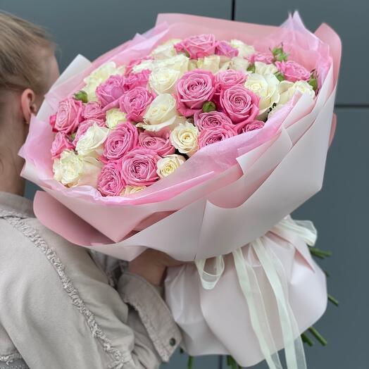 Букет Облако Любви из роз
