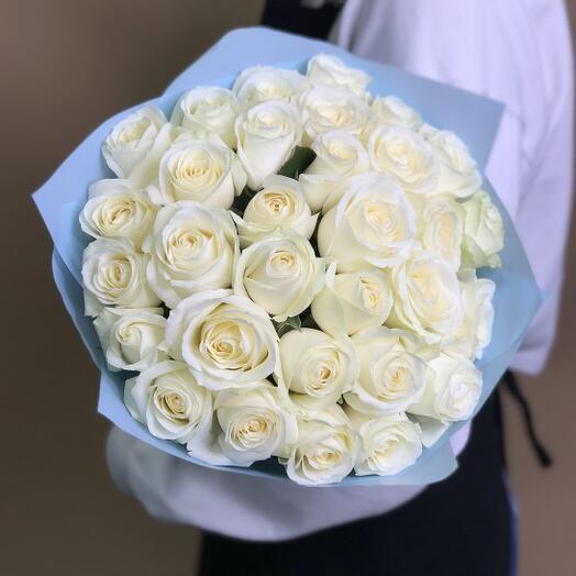 35 White Roses Avalange