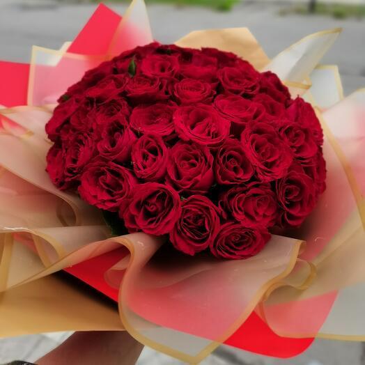 Роза кения 51 шт